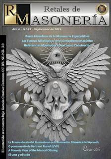 Retales de Masonería 63- Septiembre 2016