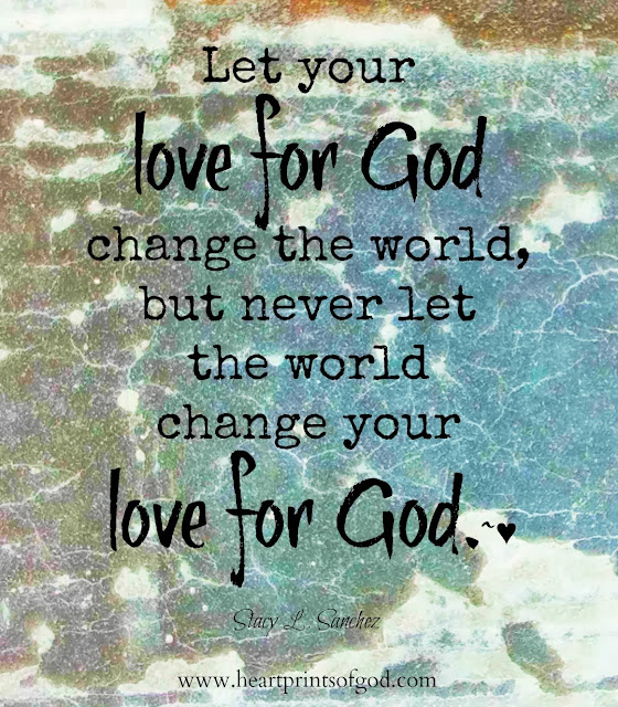 Heartprints Of God: BE The Change~