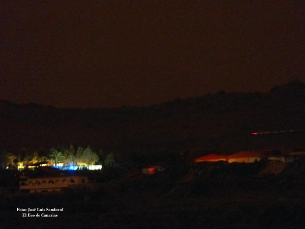 Incendio Almatriche, Las Palmas de Gran Canaria