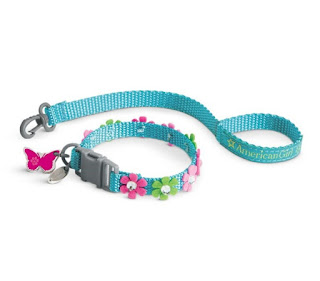 American Girl® Blossom's Collar & Leash Set