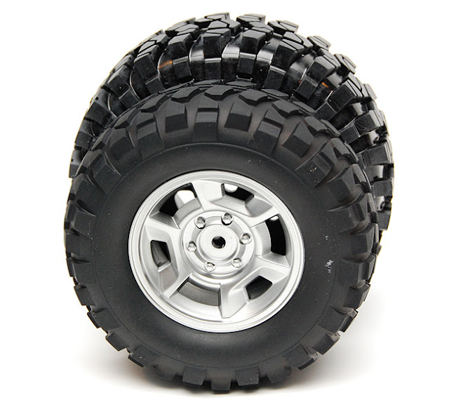Tamiya High Lift tires vs proline crawler tires