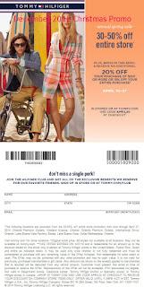 Tommy Hilfiger coupons for december 2016