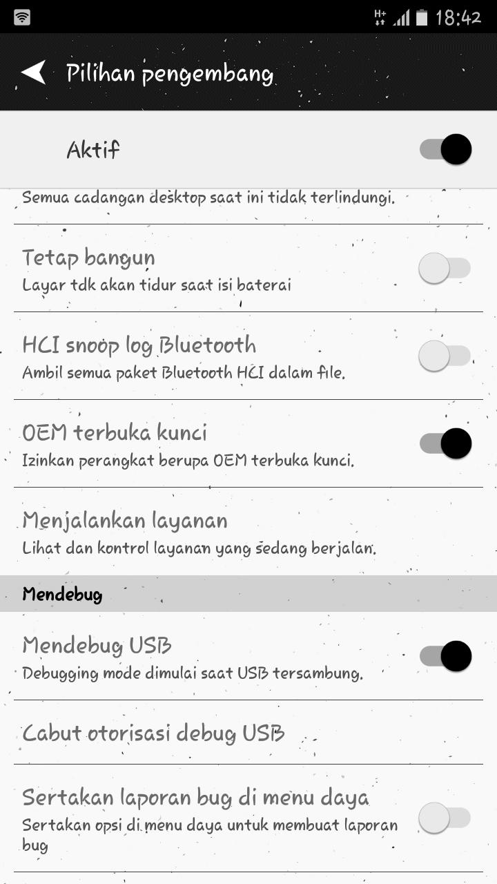 USB Debugging - OEM Lock