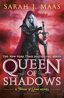 Queen of Shadows by Sarah J. Maas book cover and review
