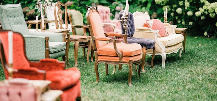 Bright & Bold Must-See Virginia Farm Wedding Inspo