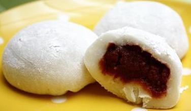 Kue Beras Isi Kacang Merah 찹쌀떡 Chapssaltteok Korean