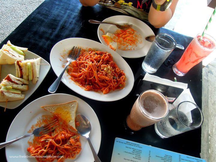 Bayler View restaurant in Baler