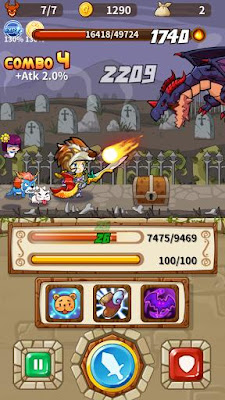 Clumsy Hero 1.1.0 game for Android terbaru