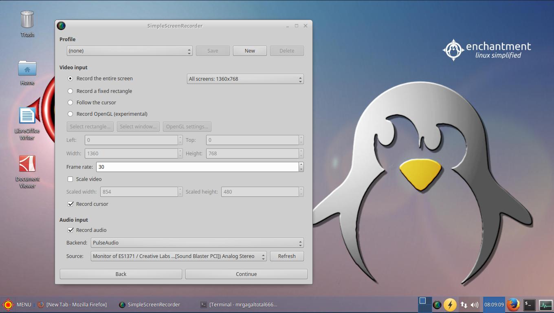 Cara Install SimpleScreenRecorder di Ubuntu linux