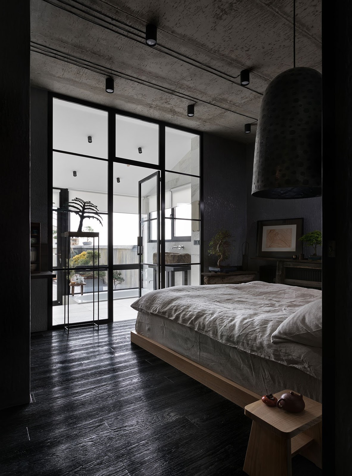 loveisspeed imperfection is beautiful the wabi sabi apartment by sergey makhno in kiev. Black Bedroom Furniture Sets. Home Design Ideas