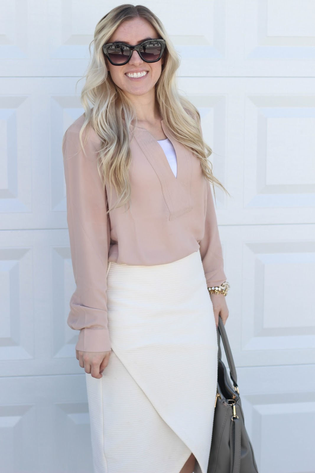 Blush Shirt: 2 Ways...