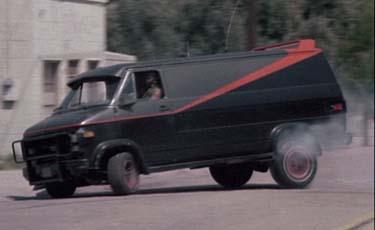 1983 gmc vandura the a team van cool cars in movies. Black Bedroom Furniture Sets. Home Design Ideas