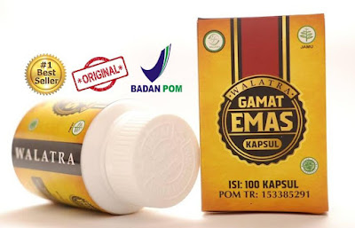 Walatra Gamat Emas Kapsul Original