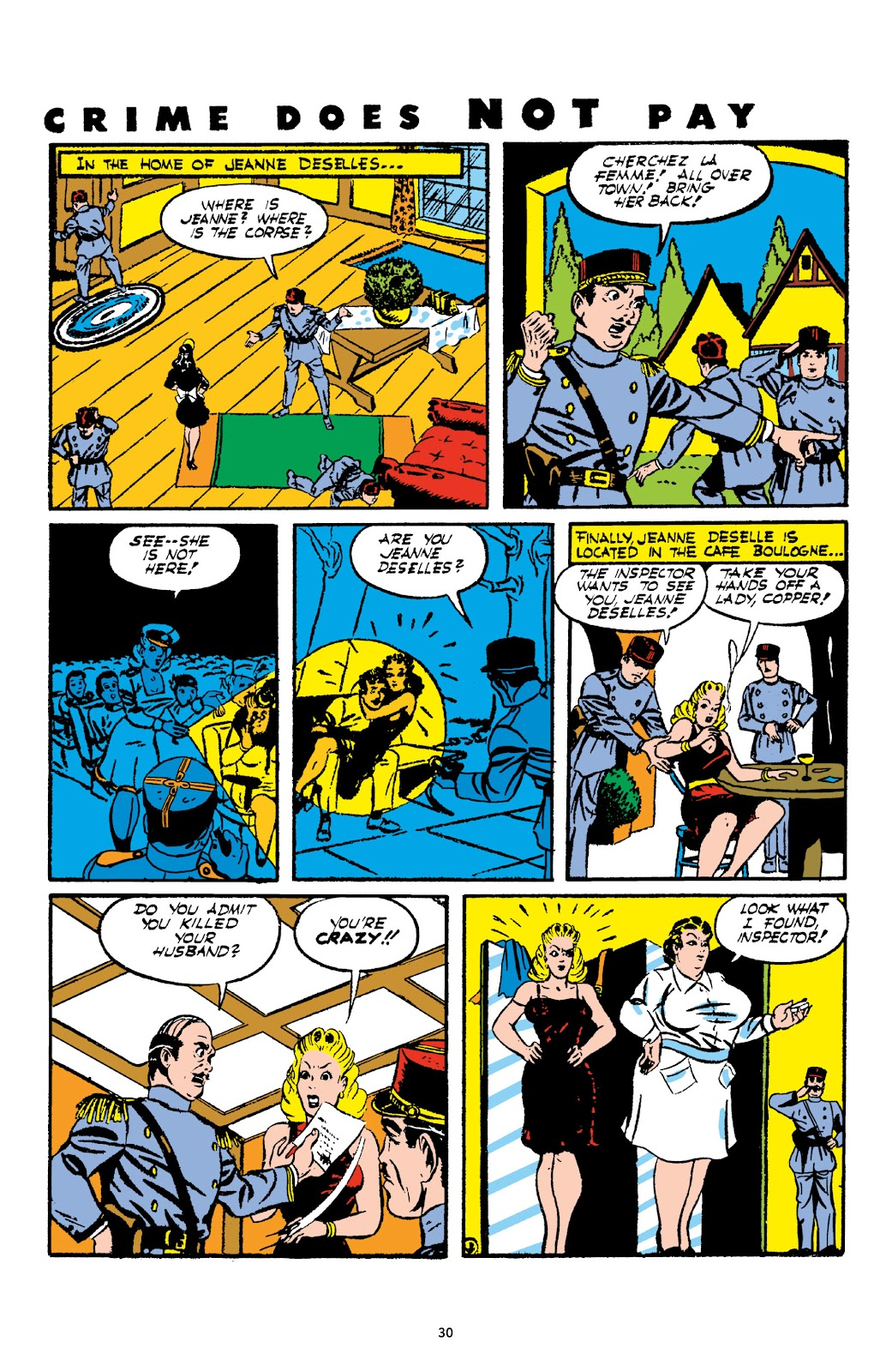 Read online Crime Does Not Pay Archives comic -  Issue # TPB 2 (Part 1) - 30