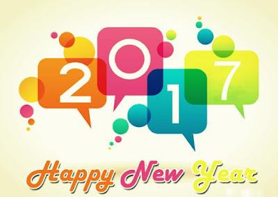 Gambar Selamat Tahun Baru 2017 Ucapan Happy New Year Terbaru