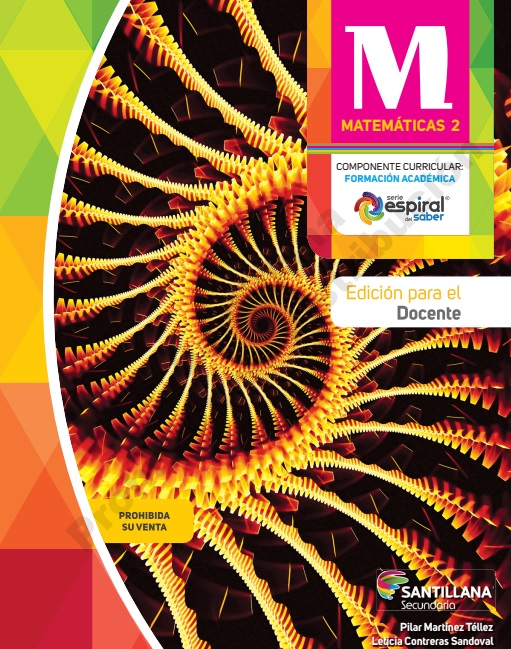libro Matemáticas 2