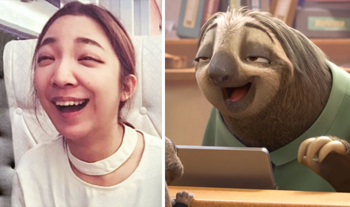 #6 This Asian Girl Looks Like Flash From Zootopia - 10 Real Life Disney Characters