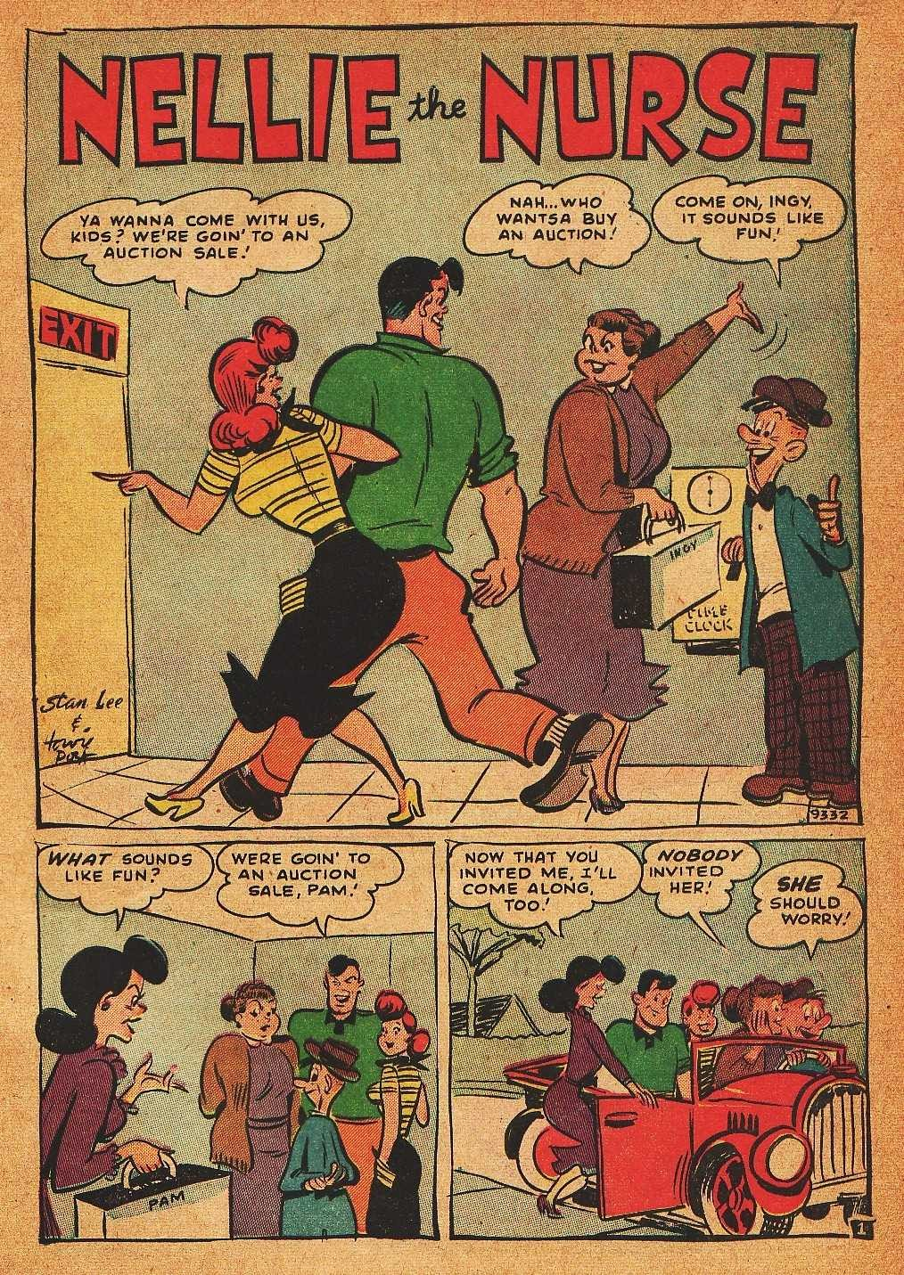 Read online Nellie The Nurse (1945) comic -  Issue #32 - 3