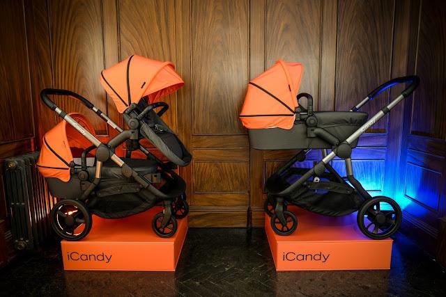 iCandy orange, new iCandy pushchair