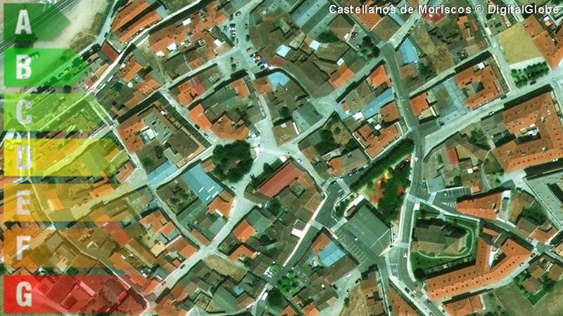 certificado energetico de vivienda y local en castellanos de moriscos