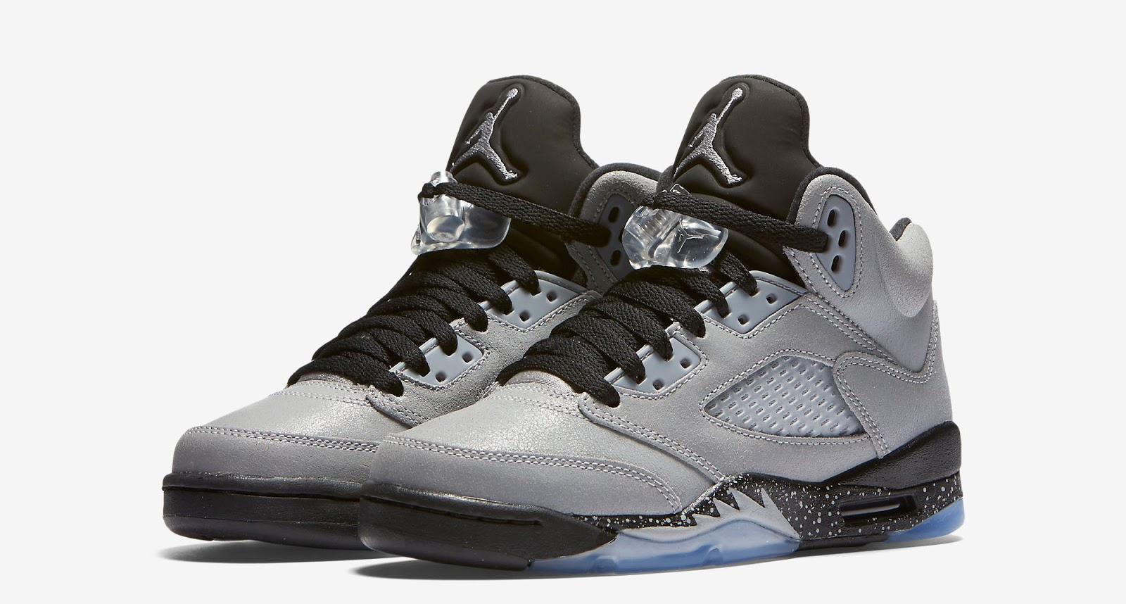cheap for discount c729d 705b2 Girls Air Jordan 5 Retro GG Wolf Grey Wolf Grey-Black Release Reminder
