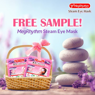 Free MegRhythm Steam Eye Mask Sample Request