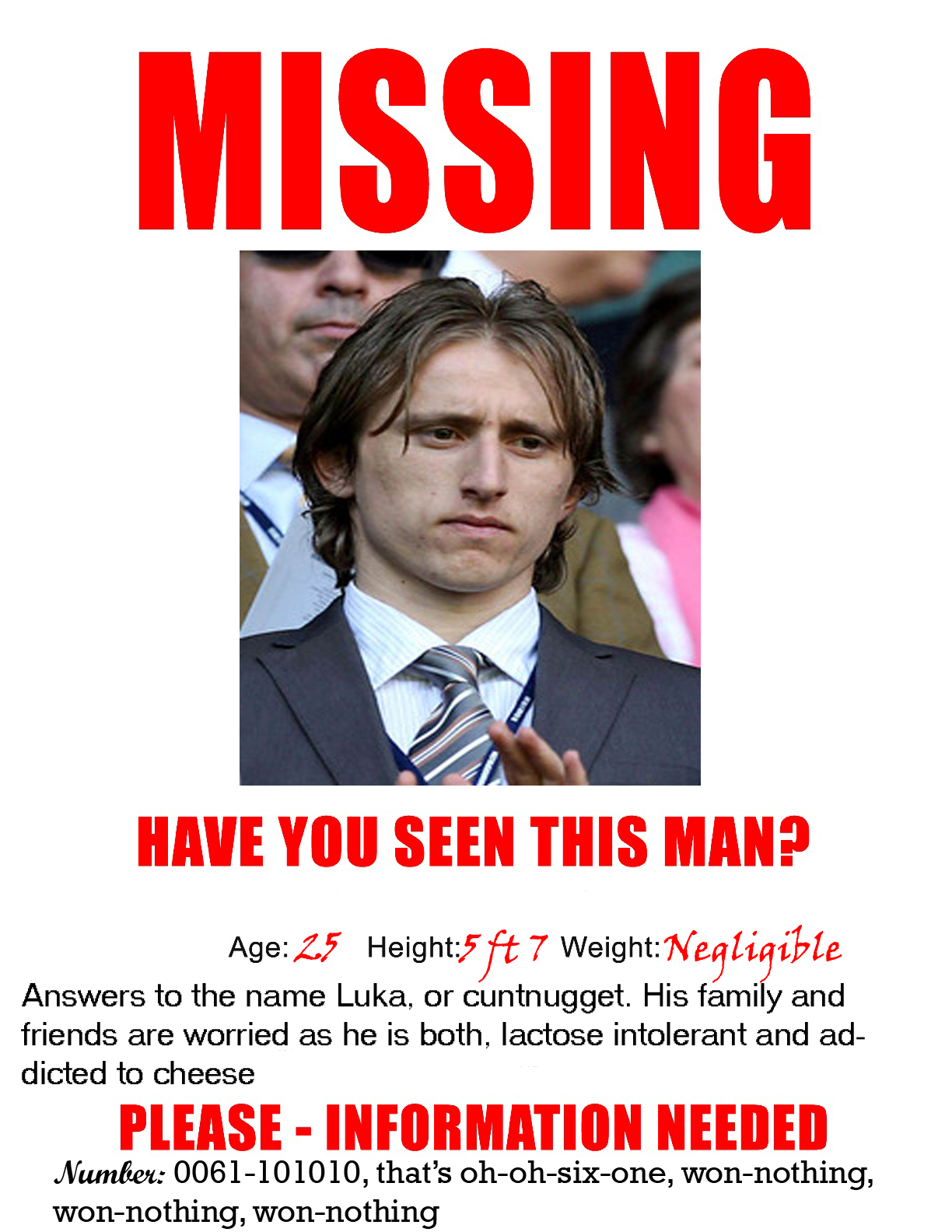Think Before You Link  Missing Persons Poster Template