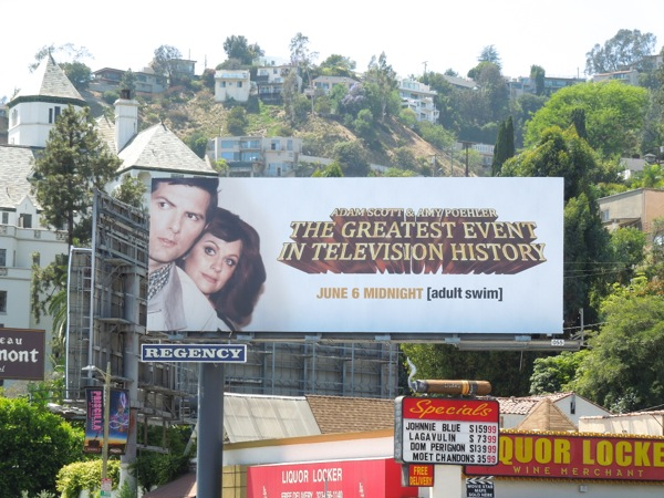 Adult Swim Greatest event tv history billboard