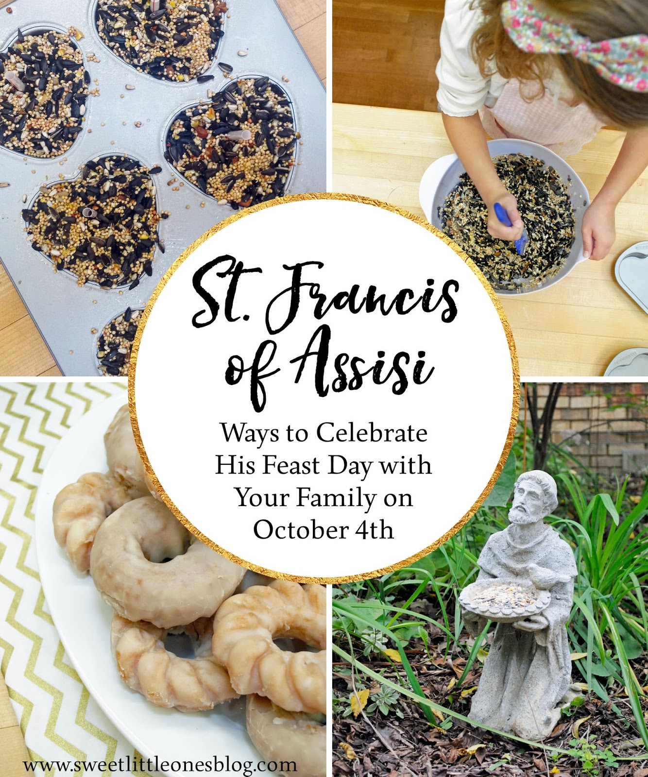 sweet little ones feast day celebrations st francis of assisi