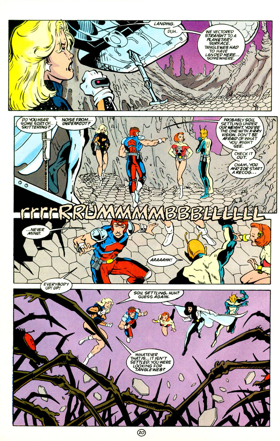 Legion of Super-Heroes (1989) 67 Page 20