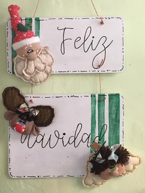Good Old Friends invierno pompom bolsa saludos de Santa Claus