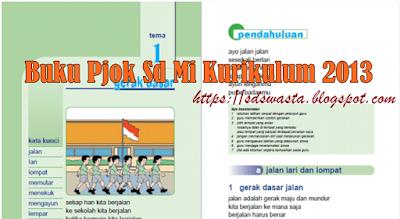 Buku Pjok Sd Mi Kurikulum 2013 Untuk Kelas 1 Terbaru 2018 - SD SWASTA
