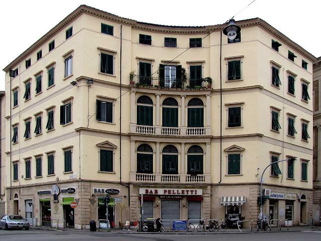 Palazzo Ciampi, Piazza del Cisternone, Livorno