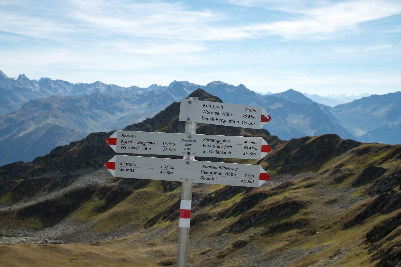 Klettersteig Hochjoch : Klettersteig hochjoch