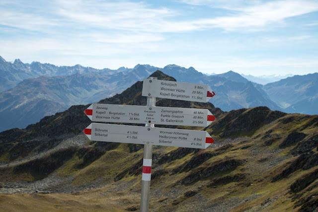 Seetalwanderung und Klettersteig Hochjoch  Silvretta Montafon 18