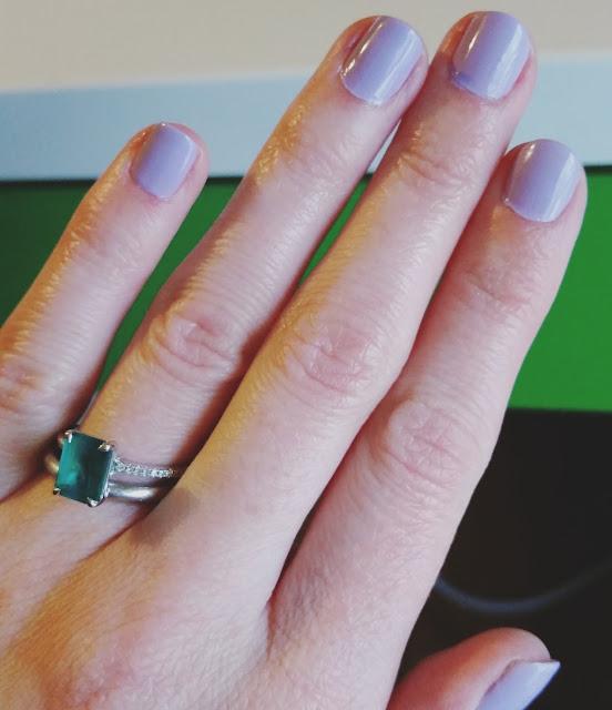 nails, Sally Hansen, nail polish,purple