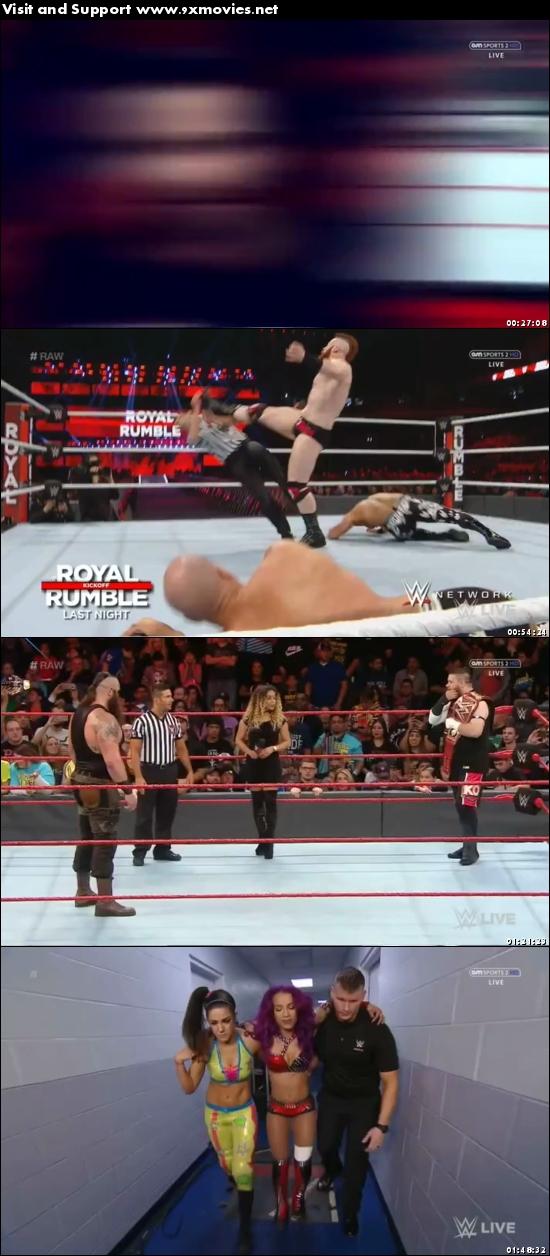 WWE Monday Night Raw 30 Jan 2017 HDTV 480p 500MB