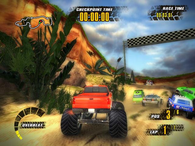 تحميل لعبة Offroad Racers سباق السيارات للكمبيوتر 3d