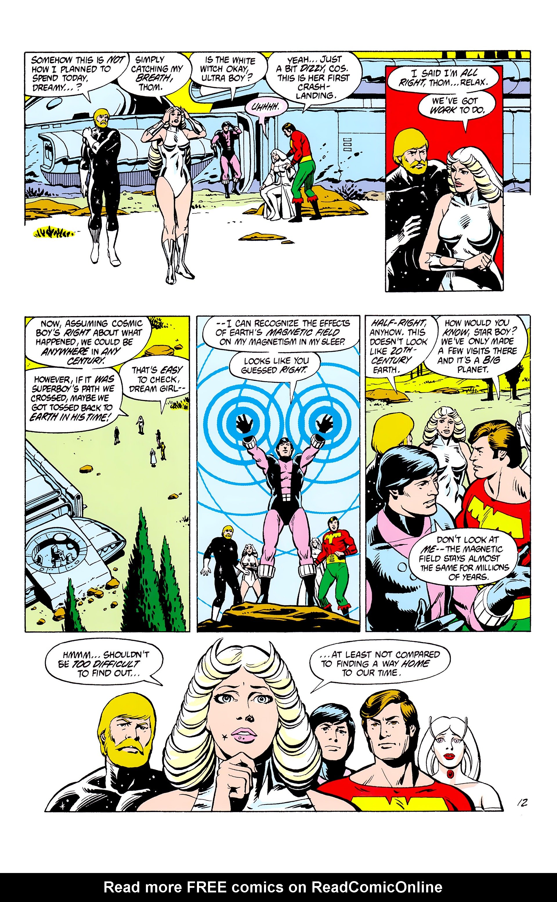 Legion of Super-Heroes (1980) _Annual_2 Page 12