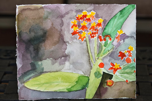 February Art Challenge: Watercolor Painting