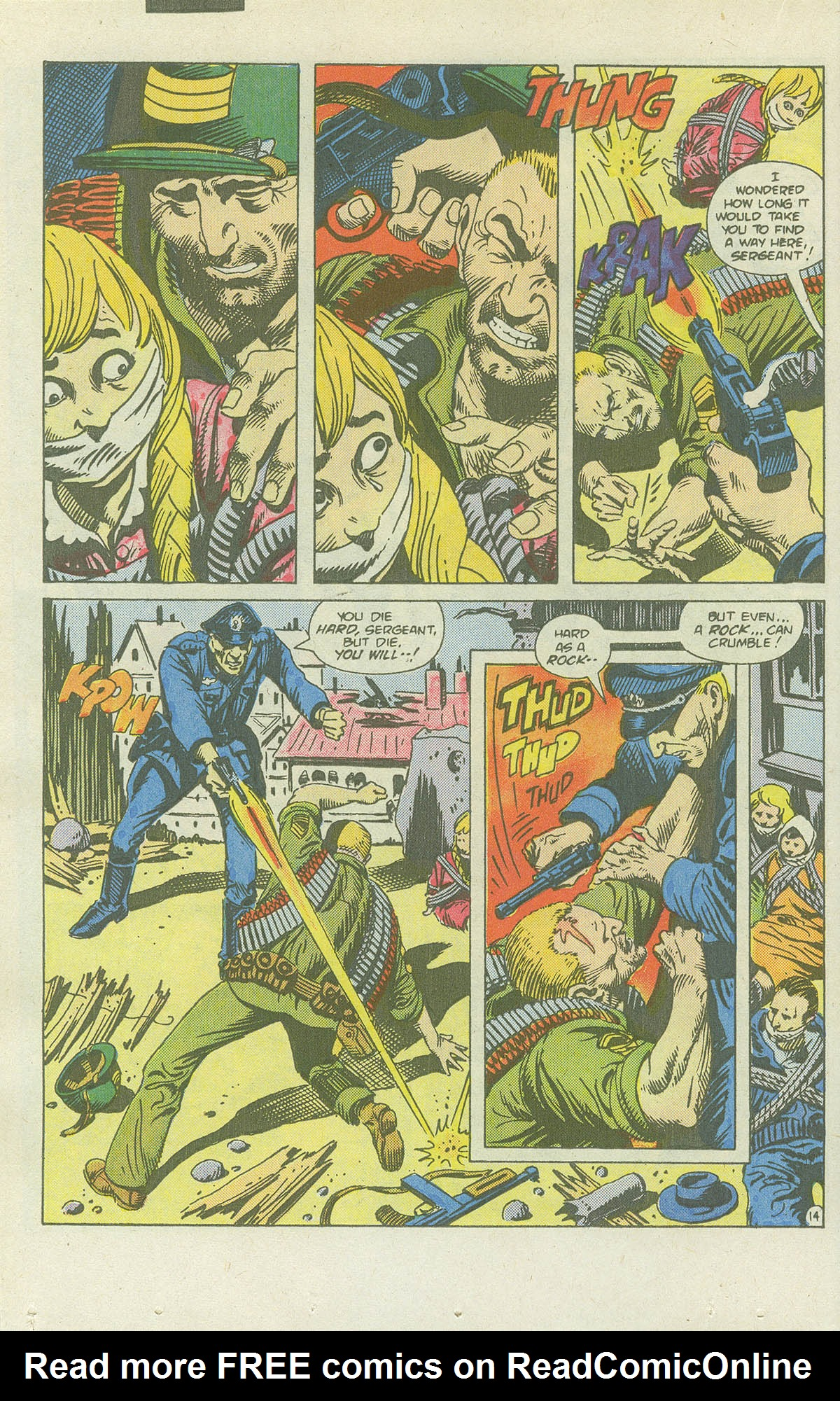 Read online Sgt. Rock comic -  Issue #415 - 19