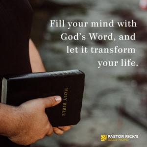 Stop Following a Culture That Doesn't Follow God by Rick Warren