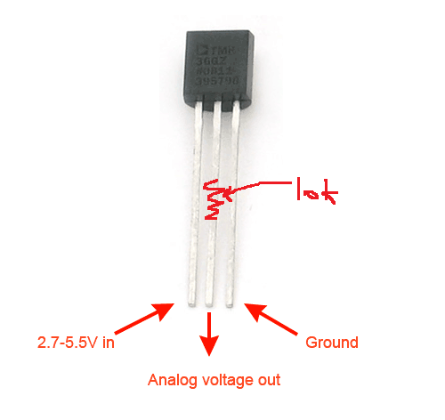 shinajaran: quick and dirty way wiring a K type thermocouple with