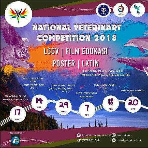 Event National Veterinary Competition 2018 IPB