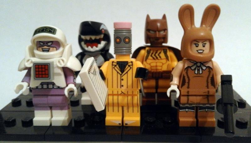 The Night Cruiser: Minifigures - The Lego Batman Movie ...