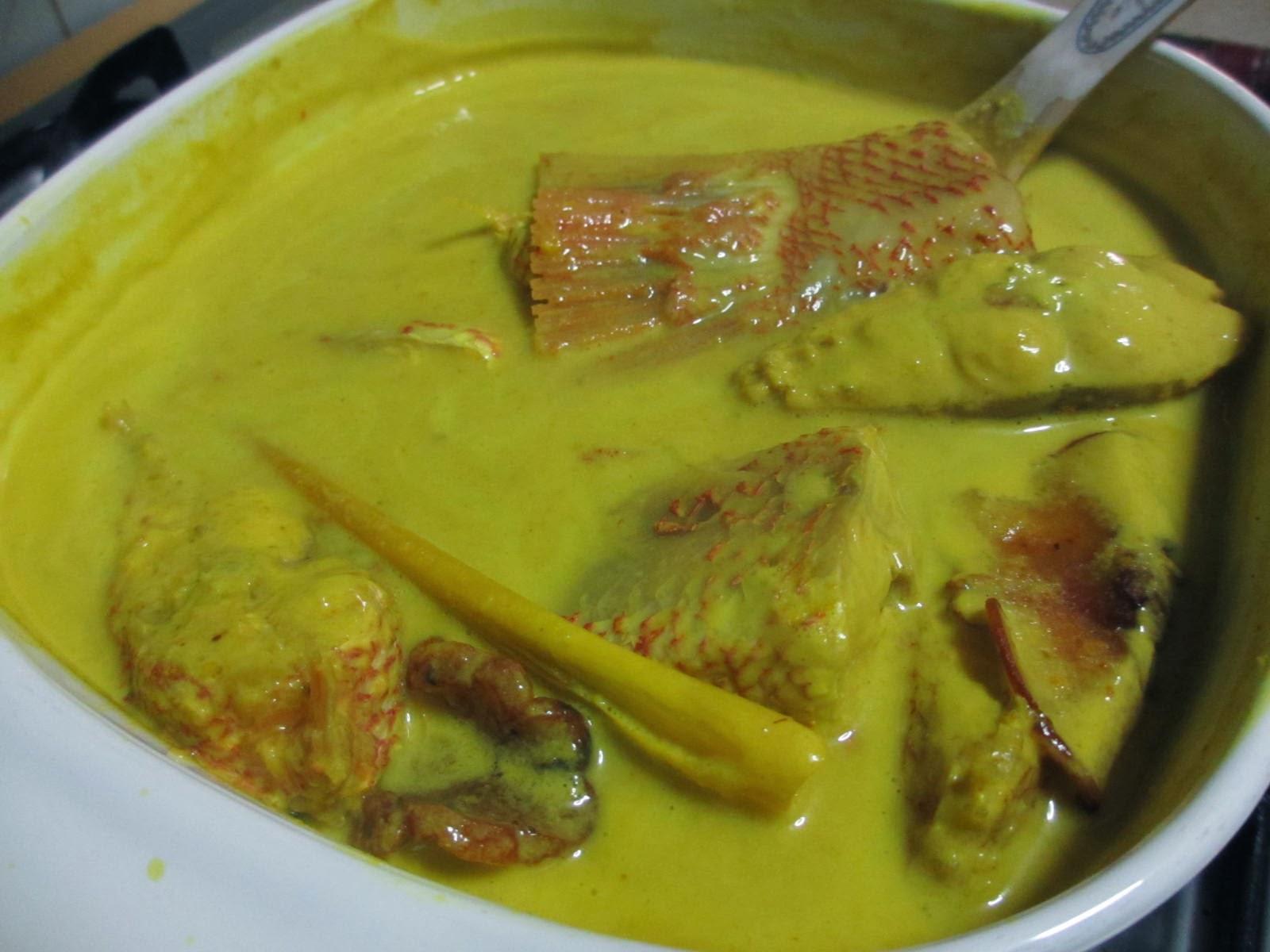 Ikan Merah Masak Lemak Cili Api Kaw Resepi Masakan Malaysia