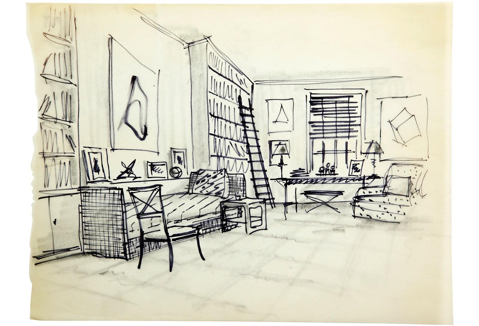 Living Room Set On Sale Black And White Theme Vibrance Chaos: Albert Hadley One Kings Lane