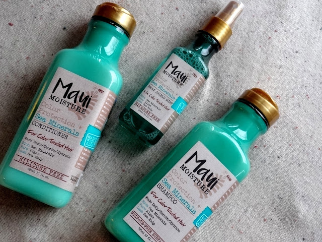 Maui Moisture Color Protection + Minerals Range