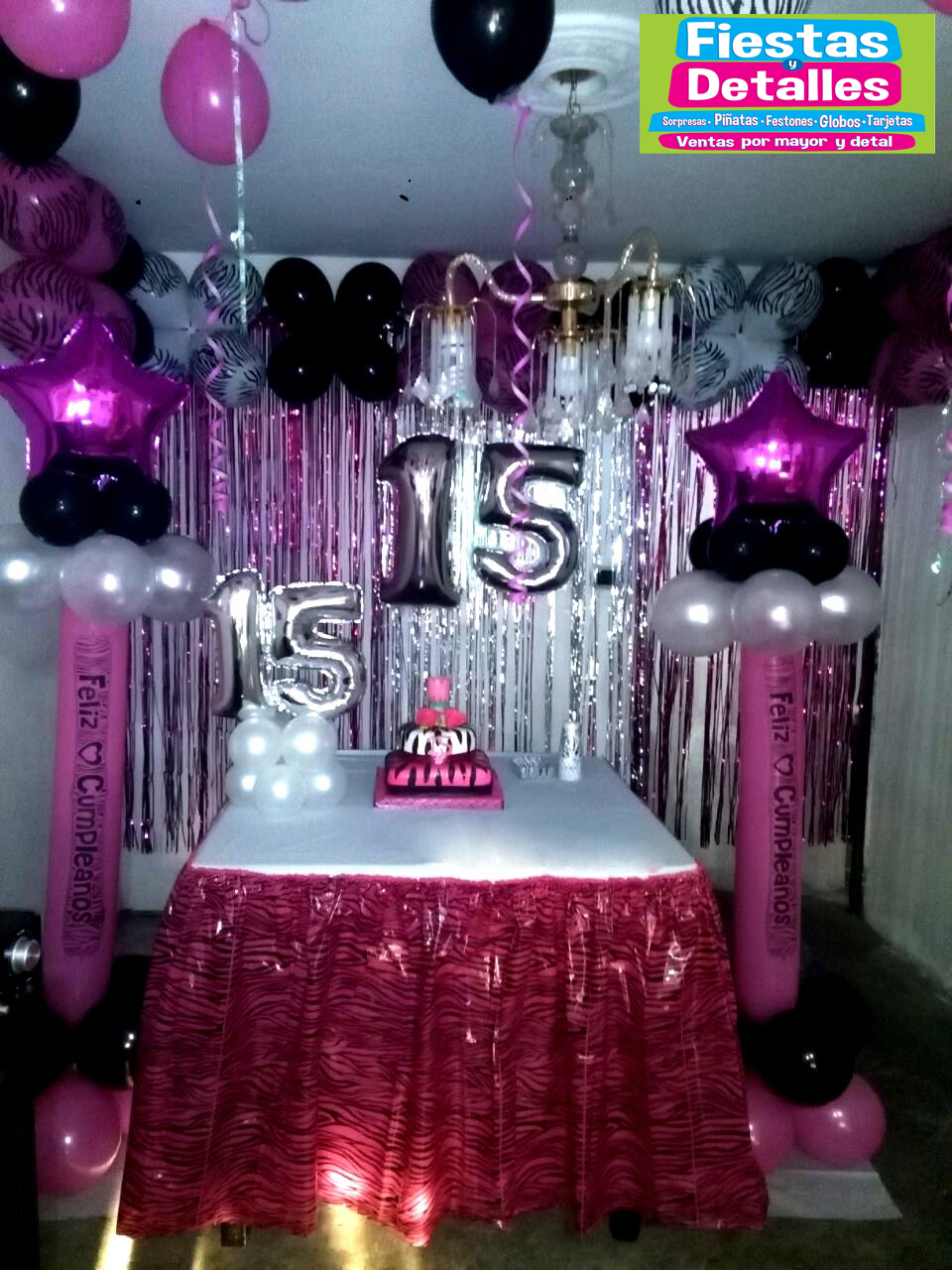 Fiestas y detalles decoracion quince a os for Decoracion para 15 anos 2016