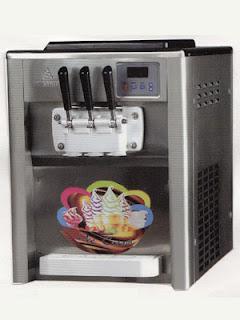 mesin es krim bekas murah 3 kran